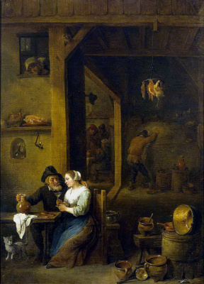 David Teniers the Younger. The scene in the zucchini