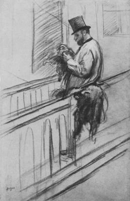 Edgar Degas. Erman de Clermont