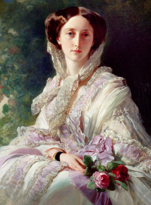 Franz Xaver Winterhalter. Crown Princess Olga of Württemberg, Grand Duchess of Russia