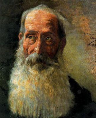 Salvador Díaz Ignacio Ruiz de Olano. Old age.