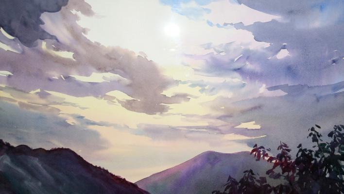 Violetta Dudnikova. Sunset