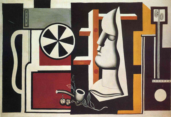 Fernand Leger. Still life with a plaster mask