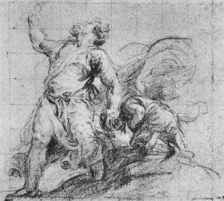 Titian Vecelli. The Sacrifice Of Isaac