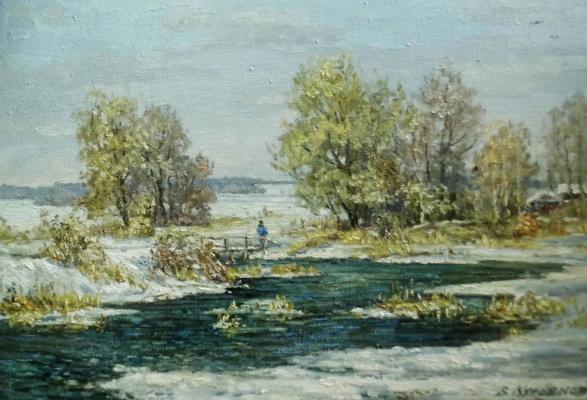 Victor Vladimirovich Kuryanov. Warm winter
