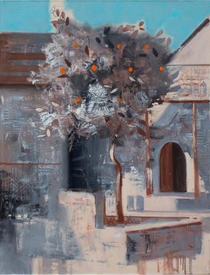 Alexander Serdyuk. From the life of the orange tree