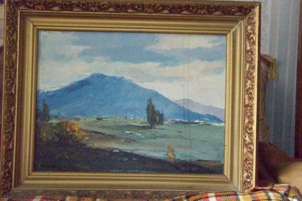 Svyatoslav Petrovich Skorobogatov. Mountain blue