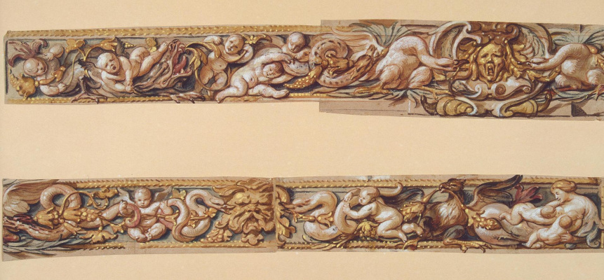 Jacob Jordaens. Decorative frieze