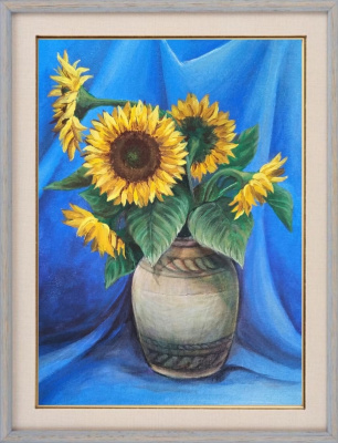 Elena Lobanova. Sunflowers