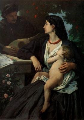 Людвиг Андреас Фейербах. Мать и младенец