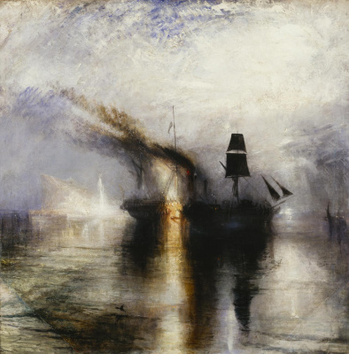 Joseph Mallord William Turner. Eternal rest. Buried at sea