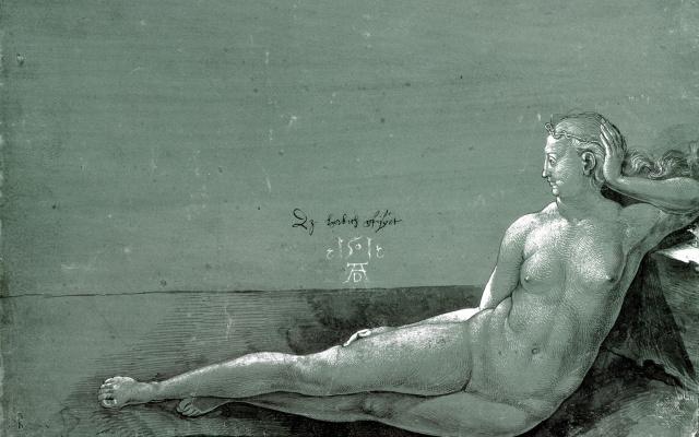 Albrecht Durer. Reclining Nude