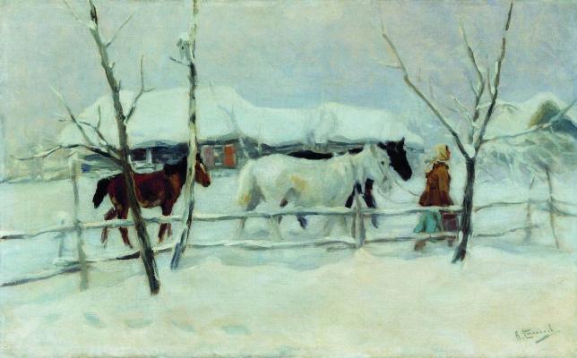Alexey Stepanovich Stepanov. To drink