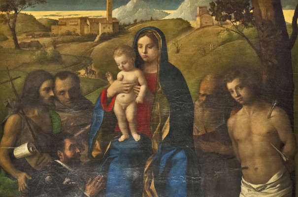 Giovanni Bellini. Madonna and Child and Saints