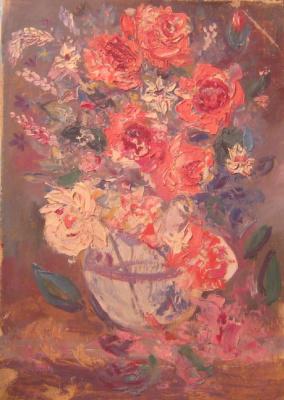 Pavel Markovich Osherov. Roses