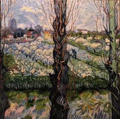 Inga Kotlyarskaya. Free copy of Van Gogh