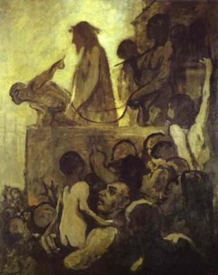 Honore Daumier. Prisoner