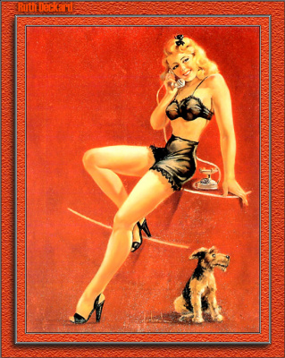 Рут Декард. Девушка и собака