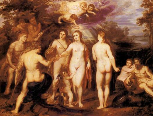Peter Paul Rubens. The Judgment Of Paris