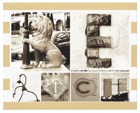 """Сергей Смирнов. Картина-мотиватор """"BE RICH"""", напечатанная на натуральном холсте и изготовленная методом галерейной натяжки."""