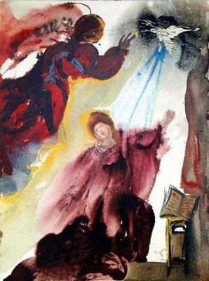 Сальвадор Дали. Mariae annunciato (Luke 1:26f)