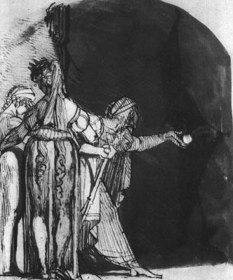 Johann Heinrich Fuessli. Plot 1