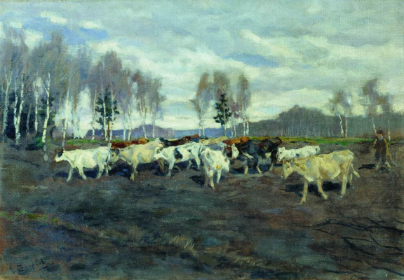 Alexey Stepanovich Stepanov. The herd