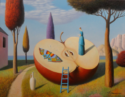 Evgeni (Eugene) Yakovlevich Gordiets (Gordian). Summer and Butterfly