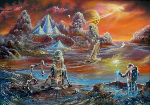 Виктор Филиппский. Парусники Титана,2205 год.