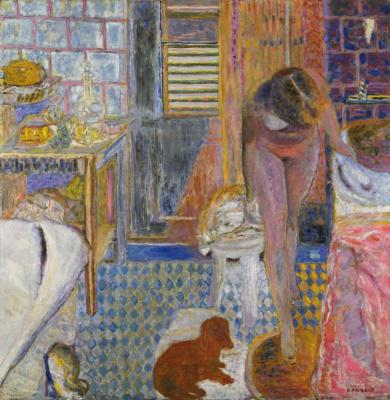 Pierre Bonnard. Bathroom