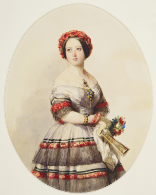 Franz Xaver Winterhalter. Queen Victoria