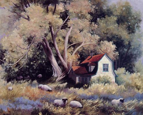 Лис Парадис. Дома под деревьями