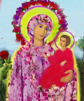 Alexander Tatarnikov. Mother of God and Jesus.