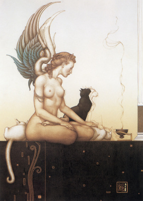 Michael Parkes. Morning