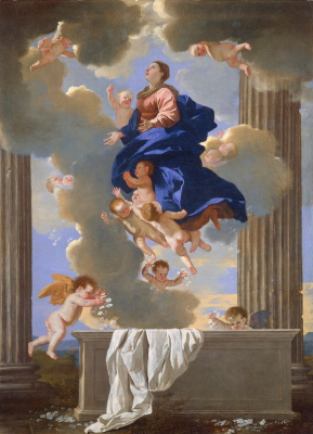 Nicola Poussin. The Ascension Of Our Lady