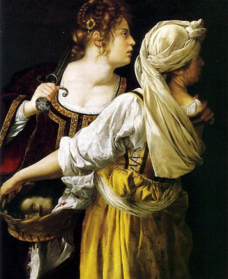 Artemisia Gentileschi. Judith and her maid