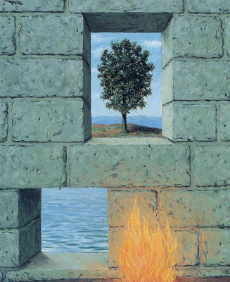 René Magritte. Mental complacency