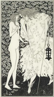 Aubrey Beardsley. Mysterious Rose Garden