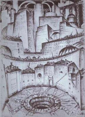 Mstislav Valerianovich Dobuzhinsky. Structure