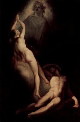 Johann Heinrich Fuessli. The Creation Of Eve