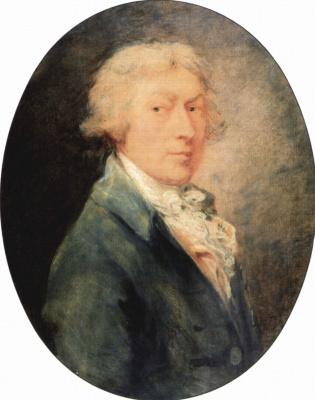 Thomas Gainsborough. Self-portrait