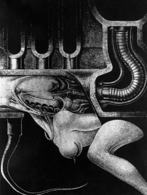 Hans Rudolph Giger. Underground