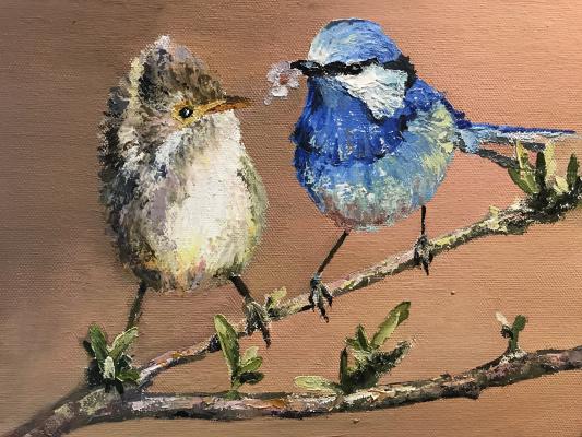 Anastasia Oraina. Birds