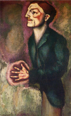 Marcel Duchamp. Portrait of Dr. Dumuchel