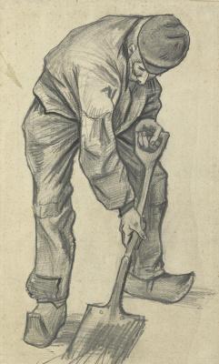Винсент Ван Гог. Копатель