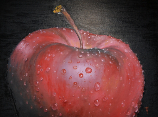 Polina Komkova. An Apple