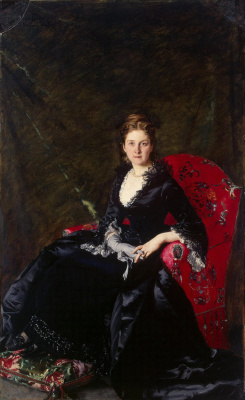 Carolus-Durand. Portrait Of Polovtsova