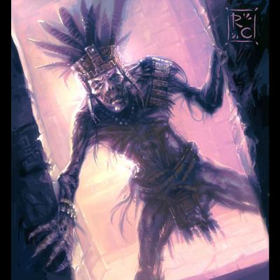 Роберто Кампус. Ацтекская мумия