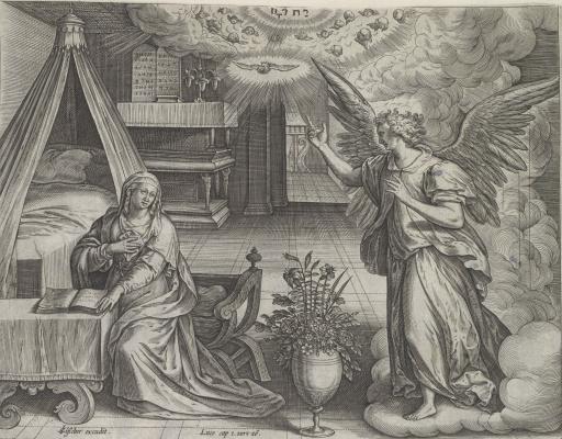Marten de Vos. Annunciation
