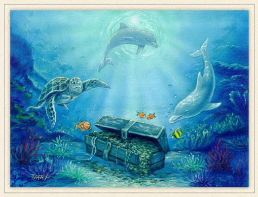 Дуглас Харт. Искусство моря