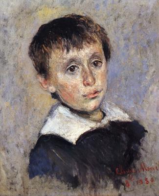 Claude Monet. Portrait Of Jean Monet